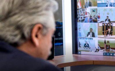 Rafael Freire, secretario general de la CSA, destaca la importancia del discurso de Alberto Fernández en reunión del G20