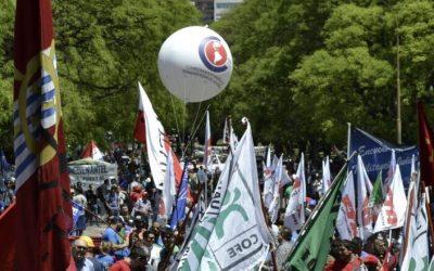 El sindicalismo de las Américas firme en la lucha por la Democracia y contra el Neoliberalismo