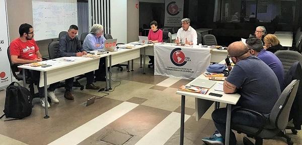 Comité de la Red Sindical de Cooperación al Desarrollo de las Américas realiza reunión para discutir los principales temas de debate global y la participación sindical