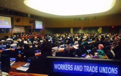 Evaluación sindical del Foro Político de Alto Nivel de las Naciones Unidas 2017 sobre Desarrollo Sostenible