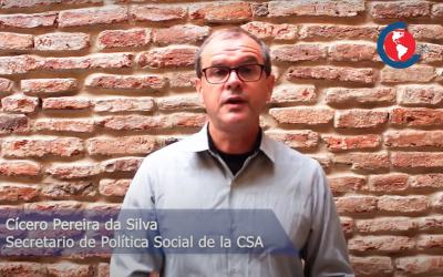 """[Video] Cícero Pereira da Silva: """"NO al trabajo infantil"""""""