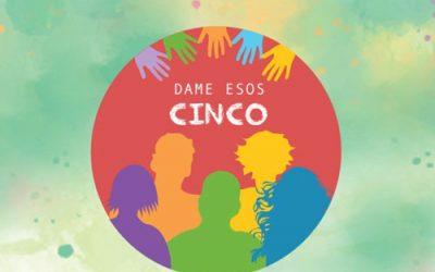 Campaña Dame esos cinco! La juventud se organiza, participa y lucha por derechos