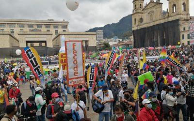 Paro Nacional de Colombia: CSA se solidariza con el pueblo colombiano