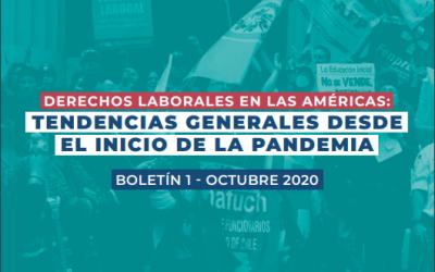 Derechos Laborales en Las Américas: Tendencias Generales Desde el Inicio de la Pandemia
