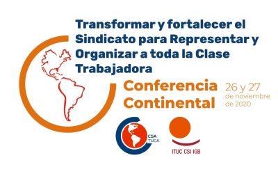 Declaraciones emanadas de la Conferencia Continental