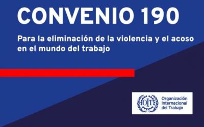 Argentina ratifica el Convenio 190 de la OIT sobre la eliminación de violencia y acoso en el mundo del trabajo