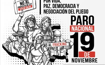 Colombia: CSA apoya el Paro Nacional de 19 de noviembre