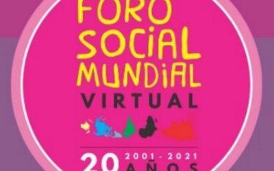 Foro Social Mundial 2021: La CSA realiza taller con centrales sindicales de América Latina y Europa