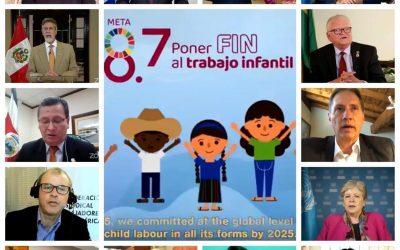 La OIT lanza el Año Internacional para la Eliminación del Trabajo Infantil