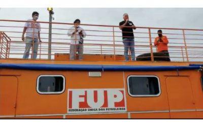 Inicia la huelga de los petroleros en Bahía con apoyo de trabajadoras/es de todo Brasil