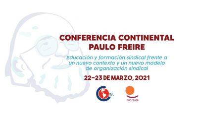 La CSA realizará Conferencia Continental sobre Educación y Formación Sindical en los próximos días 22 y 23 de marzo