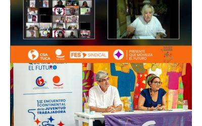 """""""¿Cómo seria la sociedad si no hubiera sindicatos que estén luchando?"""", dijo Pepe Mujica para jóvenes trabajadores de las Américas"""