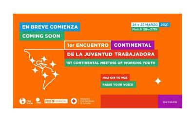 Programa del 1er. Encuentro Continental de la Juventud Trabajadora