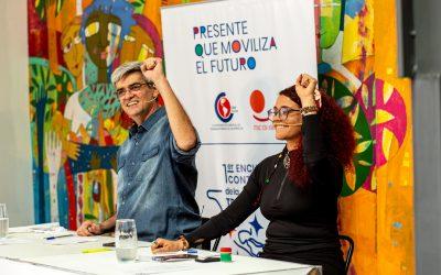 Dilma Rousseff y Pepe Mujica participan del 1er. Encuentro Continental de la Juventud Trabajadora