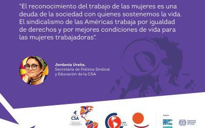 Reporte radial del primer taller previo rumbo al 4º Congreso de la Confederación Sindical de Trabajadores/as de las Américas