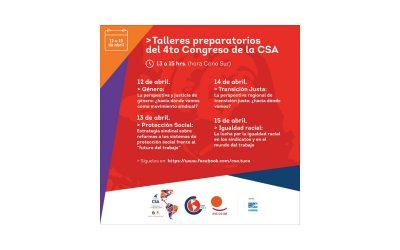 La CSA se prepara para su 4° Congreso con Talleres Previos
