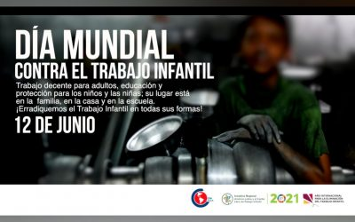 Movimiento Sindical de las Américas hace un llamado para redoblar los esfuerzos en la lucha contra el Trabajo Infantil