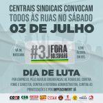Brasil: Centrales Sindicales convocan movilizaciones por el #ForaBolsonaro este sábado