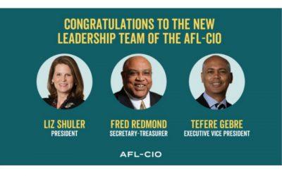 La CSA celebra la elección del equipo de liderazgo más diverso en la historia de AFL-CIO