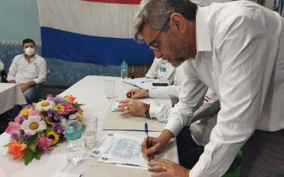Paraguay: CNT retorna a la CSA durante visita del secretariado a las centrales paraguayas